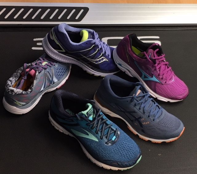 asics brooks or saucony