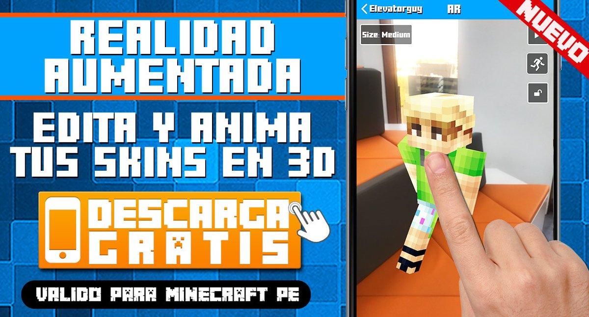 App Free Gratis On Twitter Skins Para Minecraft Con Realidad - Skins para minecraft 1 8 gratis