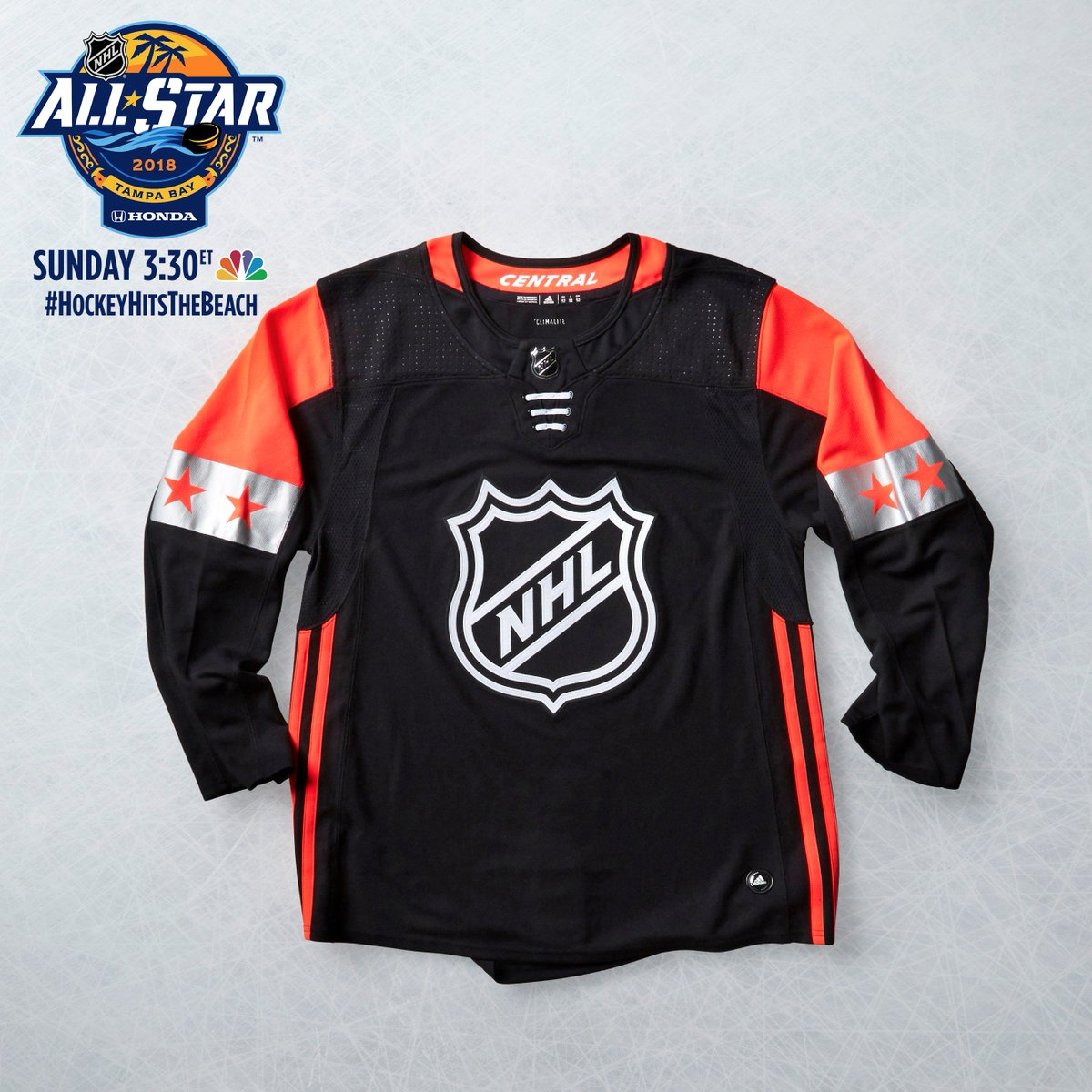 RT for the chance to win a 2018 #NHLAllStar Central Division jersey!