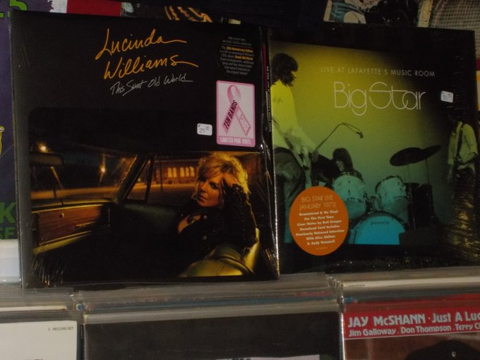 Happy Birthday to Lucinda Williams & the late Andy Hummel of Big Star