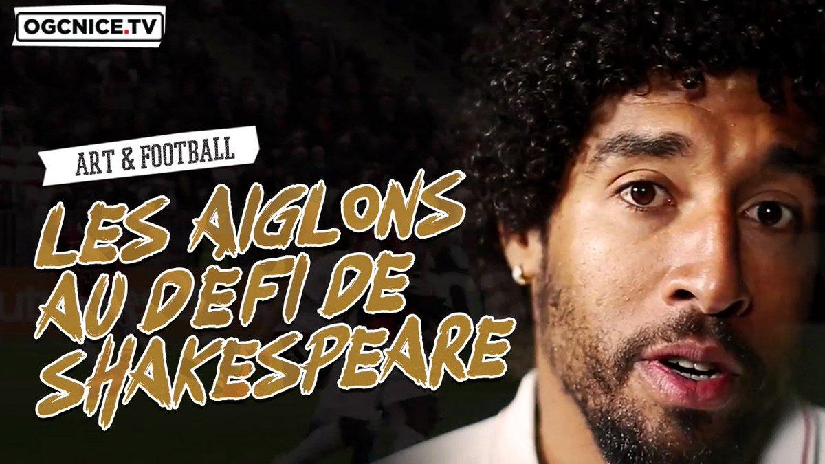 Jeudi soir au @TheatredeNice, les Aiglons ont été acteurs et spectateurs.  🎥 Reportage :  ogcn.fr/ShakeNice  #PassionnementTNN #ShakeNice
