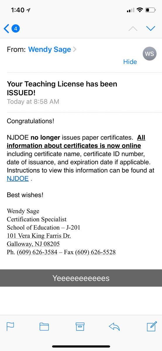 Janet Snakehole On Twitter Ya Girl Got Her Teaching License