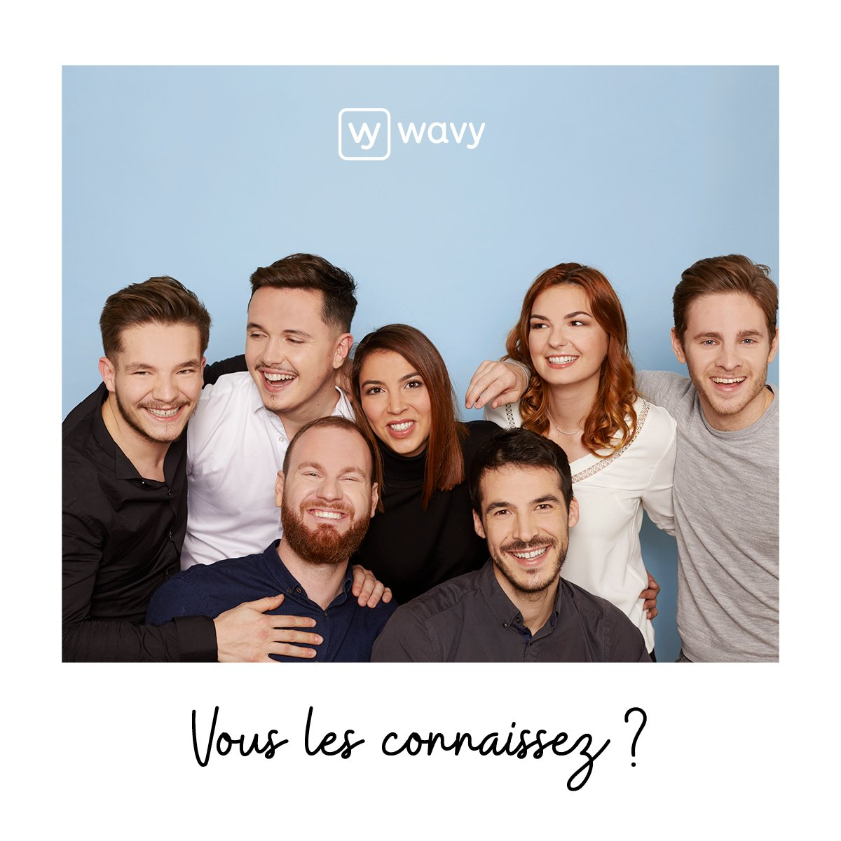 Vous voulez vivre un moment d'exception ? 🤩 Raphaël, Vincent, Guillaume, Eva, Clément, Maëlle et Benjamin se déplacent de Lyon à Marseille, dans votre salon ! #startup #bestteam #wavyfamily #digital https://t.co/saqGDWWARq