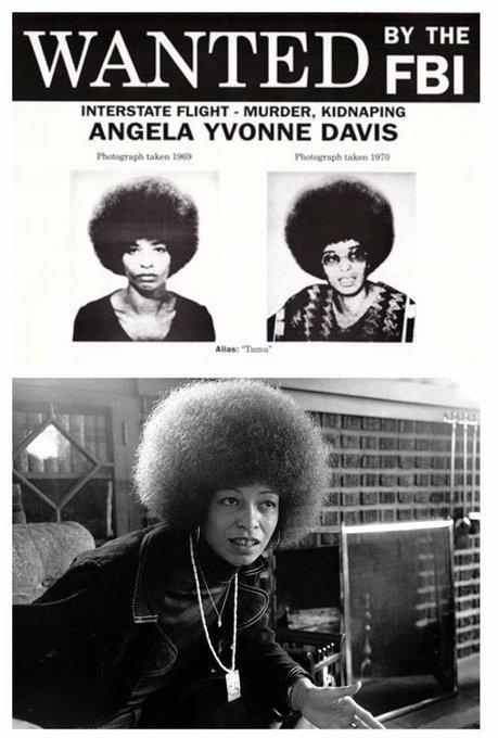 Happy birthday Angela Davis..   Love, respect & admire you..!!
