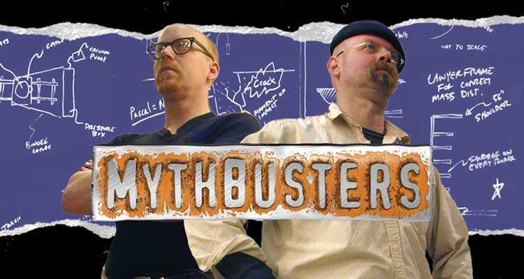 We just realized that 15 years ago this week (Jan. 23, 2003), #MythBusters first premiered on . (!!!!!) #FF