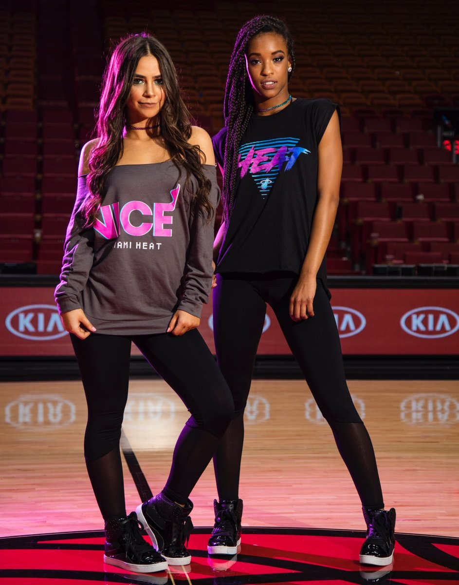 finest selection 5d754 6ad28 Miami HEAT Dancers on Twitter: