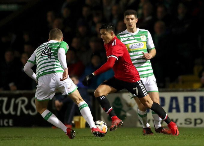 Yeovil Town vs Mancehster United Highlights