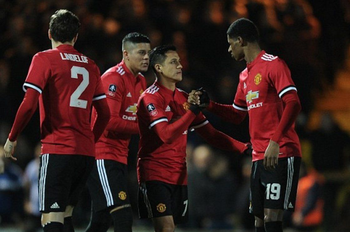 Yeovil Town vs Manchester United 0-4 Highlights
