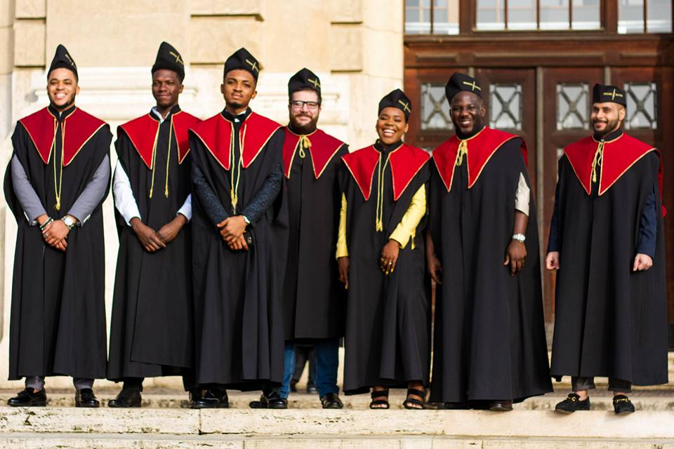 Image result for Nigerian born graduates with a first class degree from University of Debrecen, Hungary.