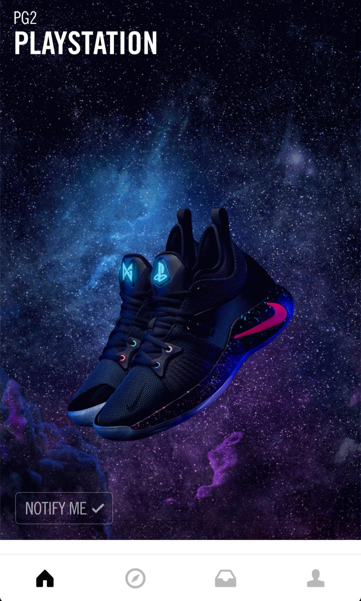 sports shoes 1a5ad 2c426 PG2 x PlayStation F&F Pack Includes: PS Backpack PG2 Shoes 2 PG controllers  and 1 PS controller PS4 Pro $100 gift card to a PSN Store Pic via  cbrickley603 ...
