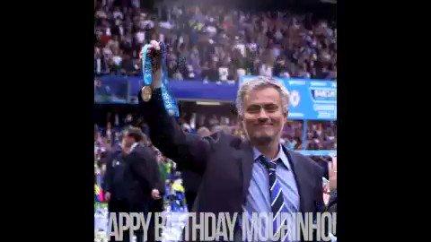 Happy birthday to The Special One, Jose Mourinho!