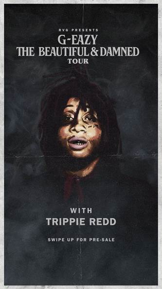 You wont want to miss @trippieredd at the The Beautiful & Damned tour