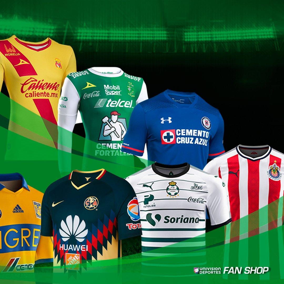 470bdb8b2bff0 vive la pasion del futbol vistiendo los colores de tu equipo favorito con  univision deportes fan