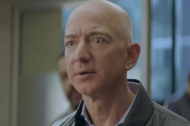 Ad Age On Twitter Watch Jeff Bezos Make A Cameo In Amazon S