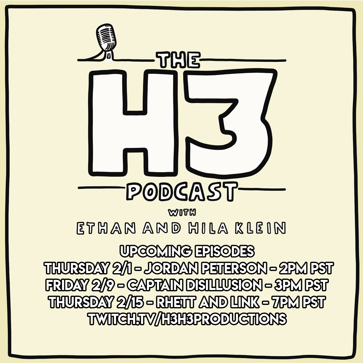 The H3 Podcast on Twitter:
