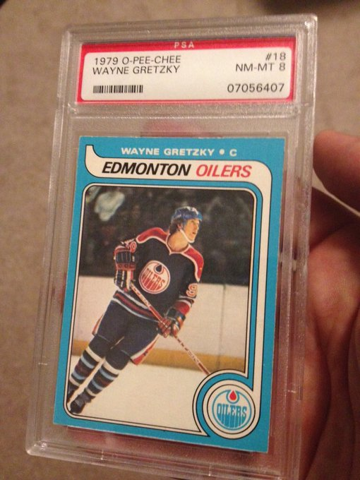 Happy 57th birthday to Wayne Gretzky. Still the greatest card of my card collection.