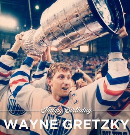 Happy Birthday to Wayne Gretzky!