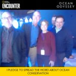 Honored to spend the morning at @NatGeoUS Ocean Odyssey On Times Square - where nature meets entertainment. Truly a hands on experience. A zoo without animals. With #oceanodyssey founding team - Lisa, Alex, Bill and my brother Fritz.