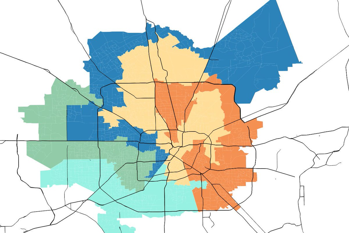Houston Chronicle on Twitter Gerrymandering A look at Houstons