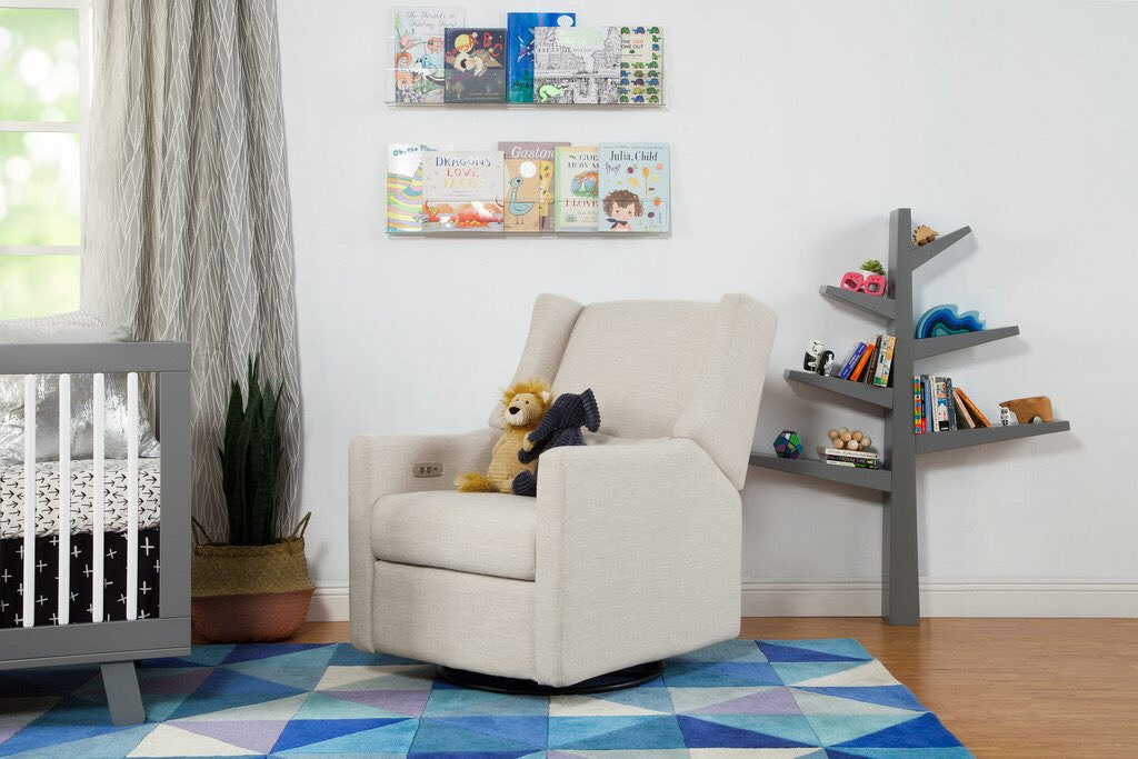 Did We Mention Weu0027re Never Getting Up From This Chair Again?! #nurseryinspo  #babyfurniture #nursingchair #babyletto  #juvenileshoppic.twitter.com/C99GYrYkXZ