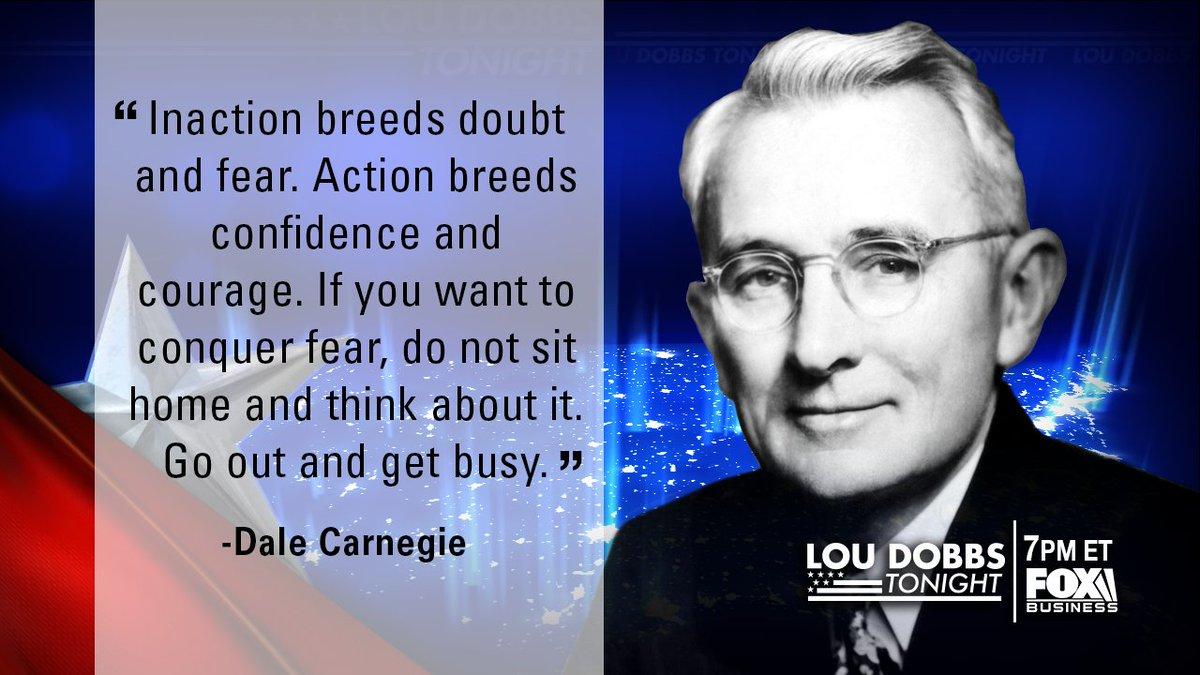 Tonight's #QuoteofTheDay from Dale Carnegie. #MAGA #TrumpTrain #Dobbs