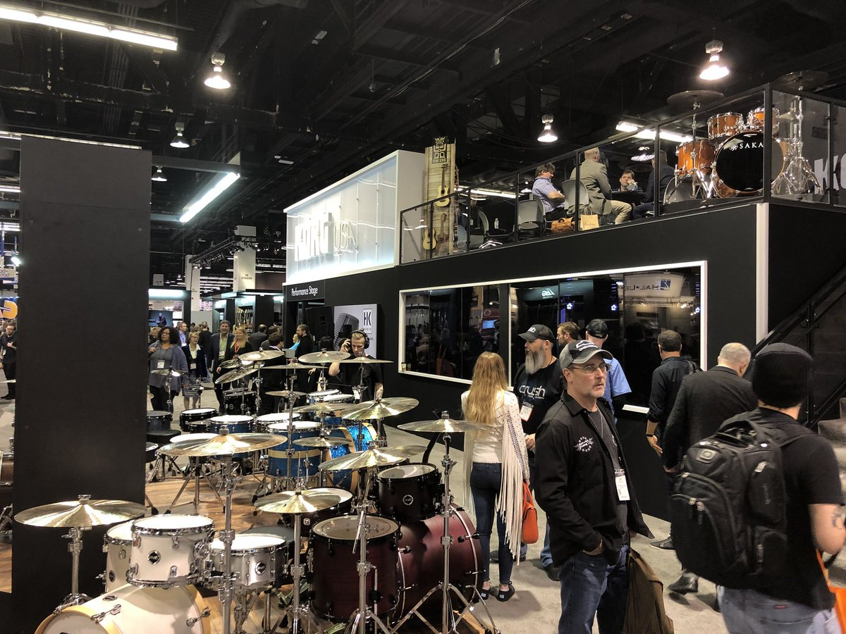 At @NAMMShow for @KorgUSA so much amazing GEAR!! PROLOGUE!
