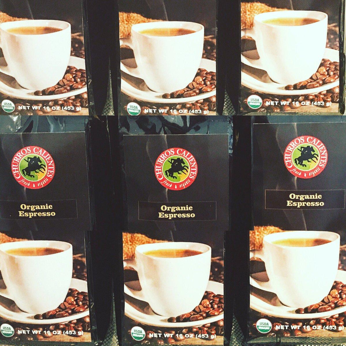 Churros Calientes On Twitter Organic Espresso Coffee Beans For Churroscalientes Delicious Foo Food Yummy Losangeles