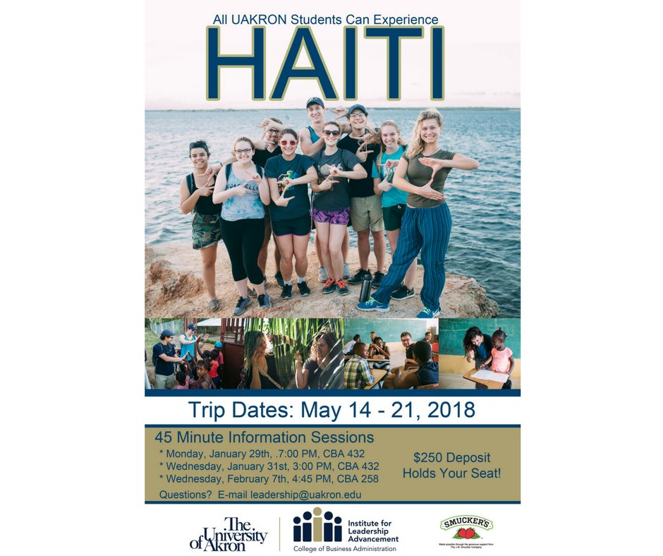 Find all of this and more on @LeadershipCBA's 7th trip to Haiti this May.  Learn more at the first informational meeting being held on Monday, Jan.29  at 7pm ...