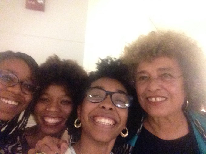 Happy Birthday to the beautiful Angela Davis !!!! Wow such an inspiration .