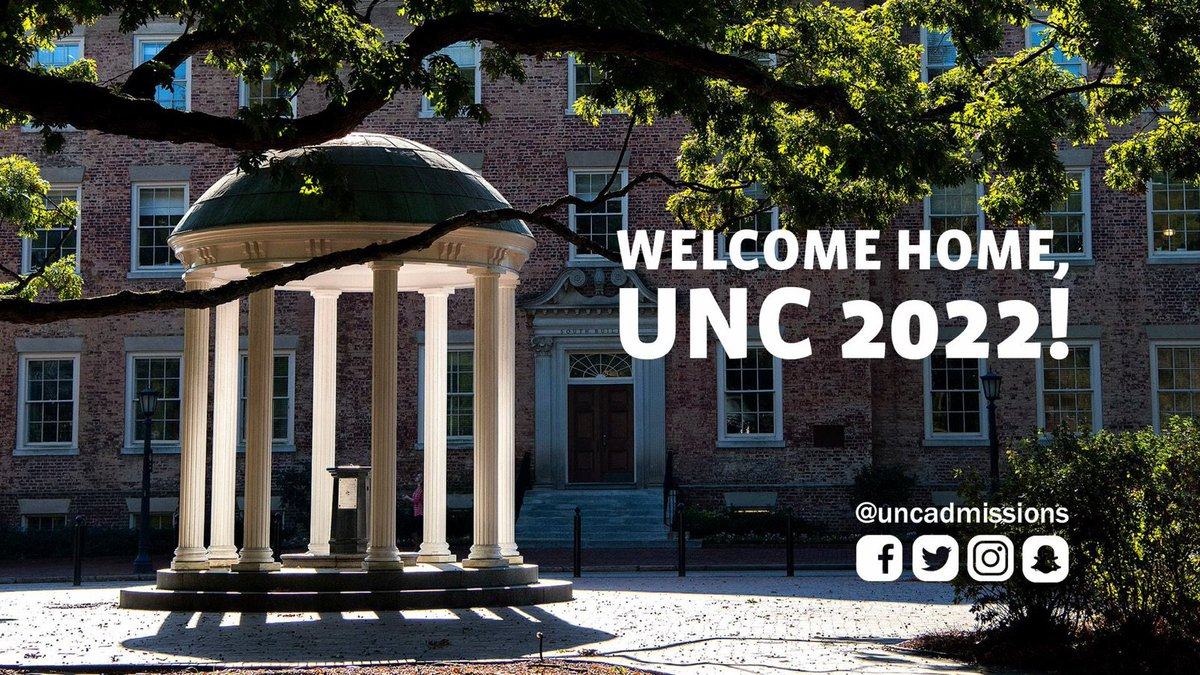 unc admissions on twitter members of unc22 are invited to join