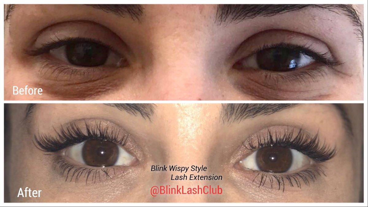 Blink Lash Club On Twitter Eyelash Extension Wispy Style At Blink