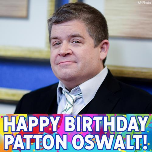 Happy Birthday, Patton Oswalt! The actor and comedian turns 49 today.