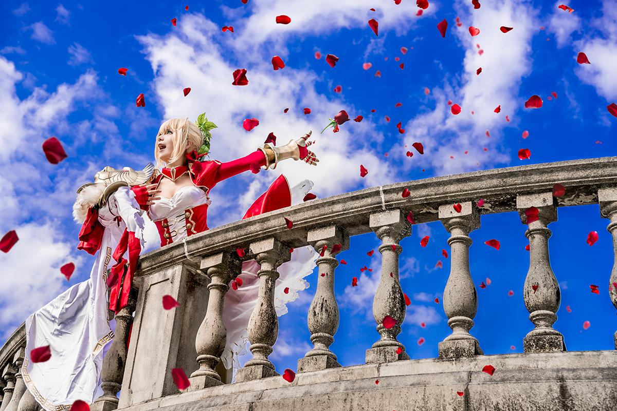 皇帝の再演に 深紅の薔薇と万雷の喝采を  character:ネロ・クラウディウス  model:ゆう @yu_know_what