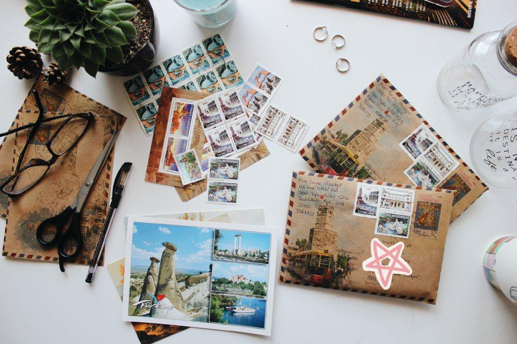 Как обменяться открытками, открытки живыми цветами