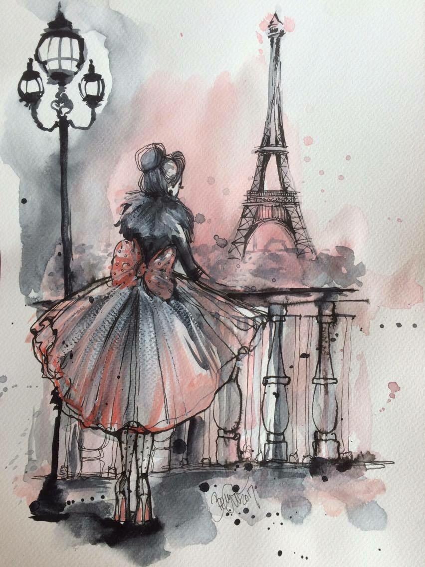 How To Draw Paris Art
