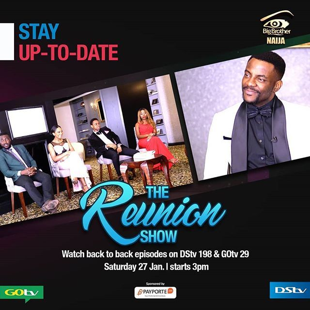 Big brother naija reunion show video