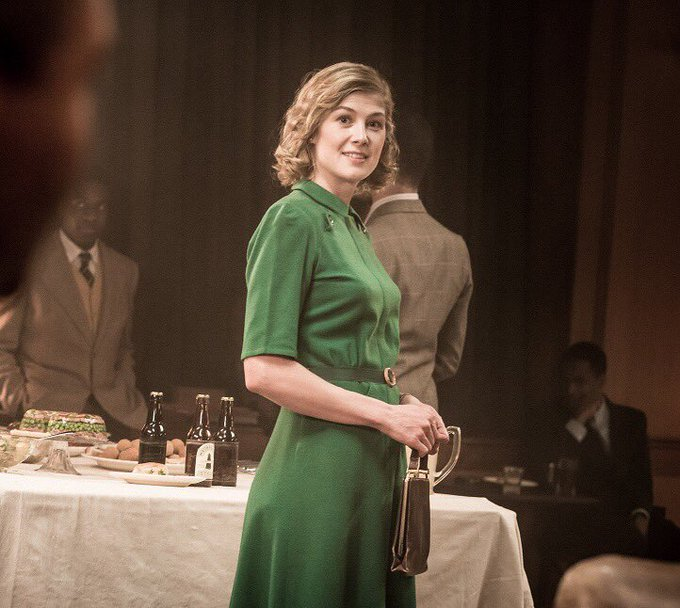 Happy birthday to Rosamund Pike who played Ruth Williams in A United Kingdom (2016)