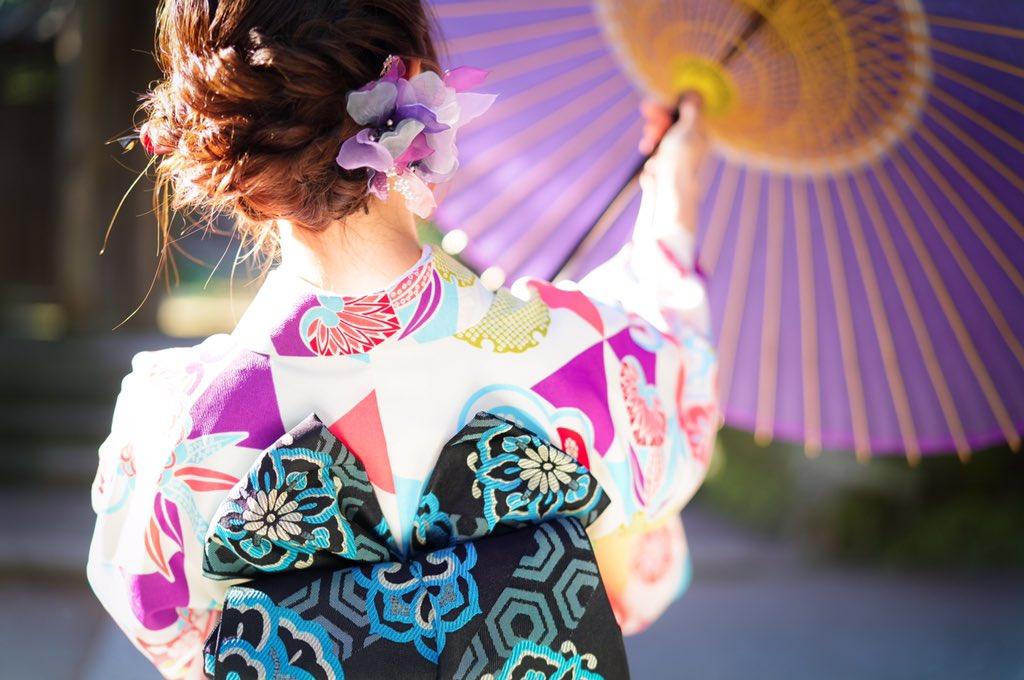 画像,新年!🎄鎌倉!🙋着物!👘もうすぐ2月!🙅 https://t.co/qUY1KCL8Iz。