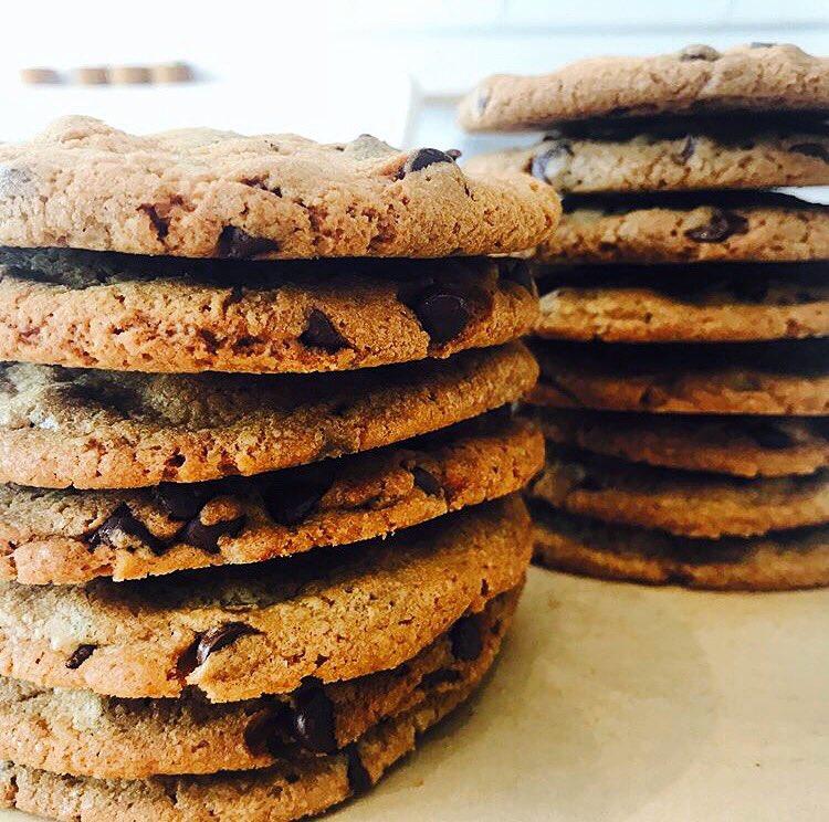 Chocolate Chip Cookies: #GLUTENFREE & #ORGANIC
