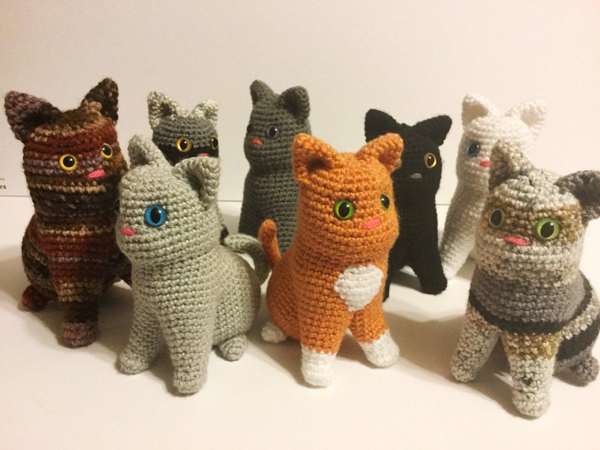 10 Crochet Cats Home Decor Free Patterns - DIY 4 EVER | 900x1200