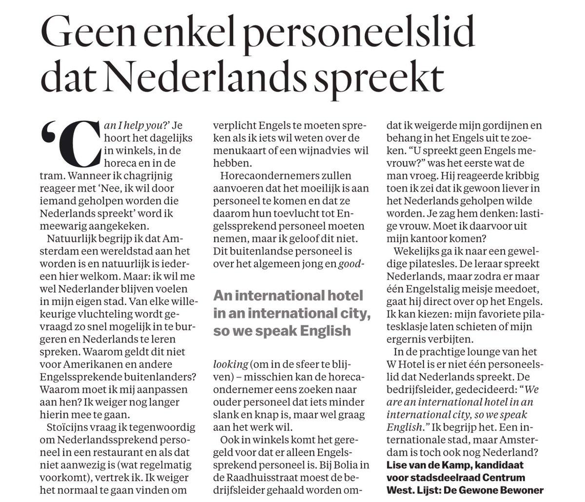 Beter Onderwijs Nederland On Twitter Brief Van De Dag In