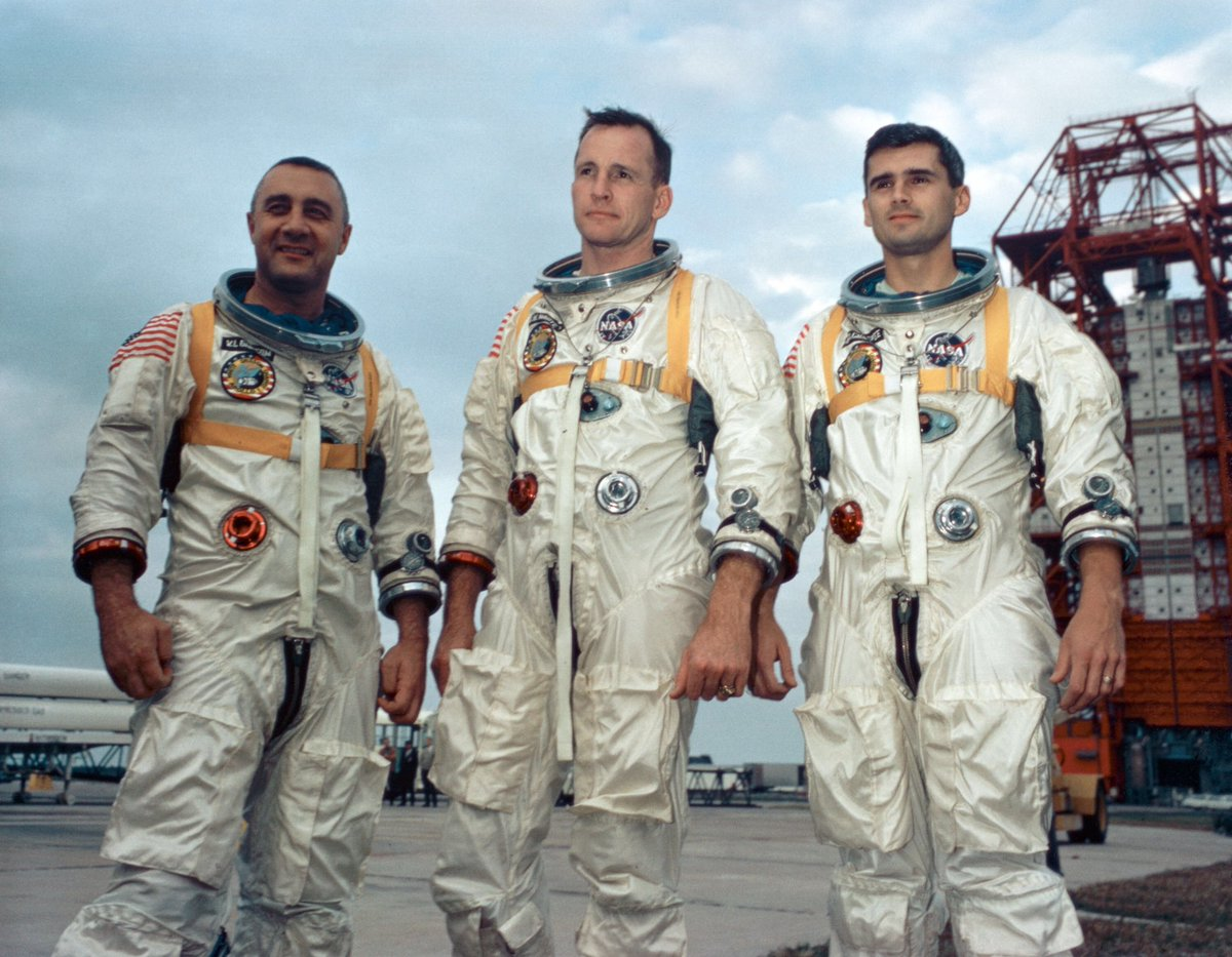 I never met the Apollo 1 crew who were killed #OTD 51 years ago, but they are my heroes #NASARemembers