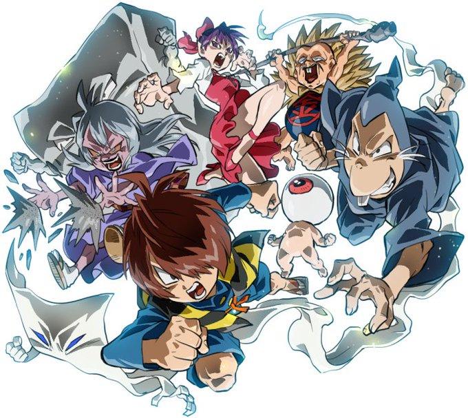 ドラゴンボール超の後番組が鬼太郎なのでと描かれたイラストが全員戦闘
