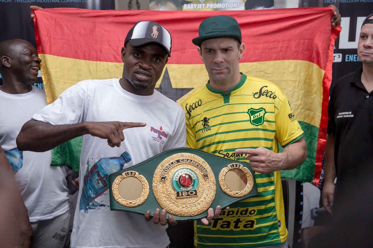 3477788eb Escandaloso fallo contra un boxeador argentino en Ghana