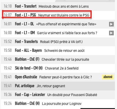 Ah oui #Neymar et le #PSG, ça part vraim...