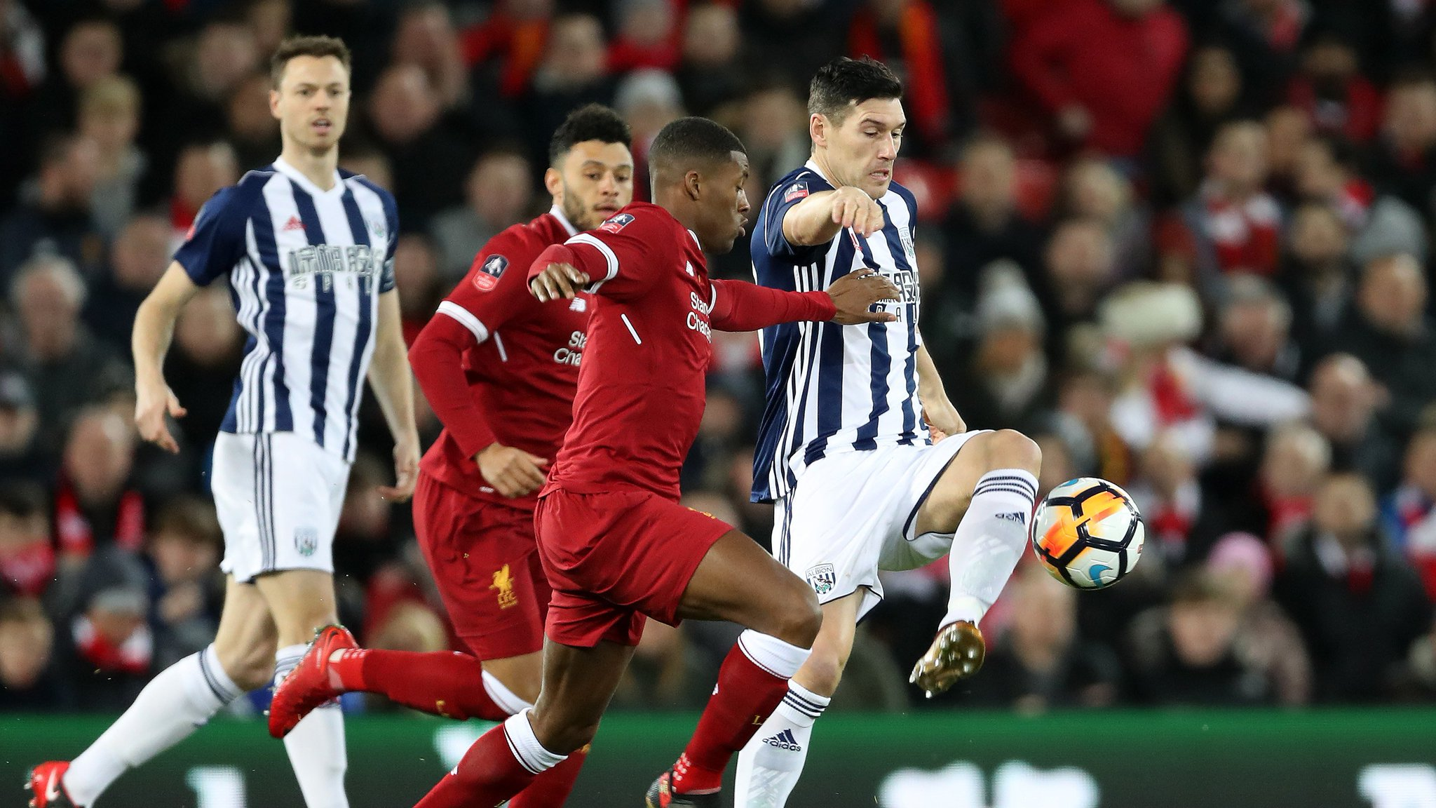Liverpool vs West Brom 2-3 Highlights