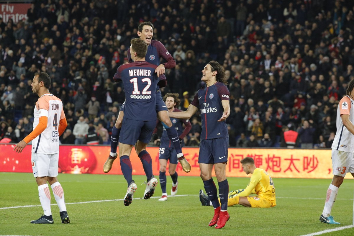 PSG vs Montpellier Highlights 4-0 Ligue 1 27 January 2018