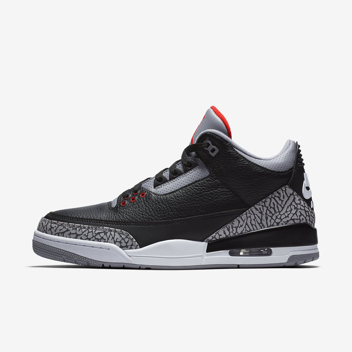 J23 IPhone App On Twitter Jordan 3 Retro OG Black Cement Official Images February 17th 200 Tco XstcWh2UYm