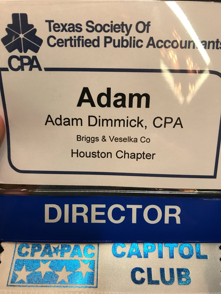 Im Leaving Inpired And Energized Thanks To All My Fellow Texas Cpas I Enjoy These Opportunities To Meet Network And Learn