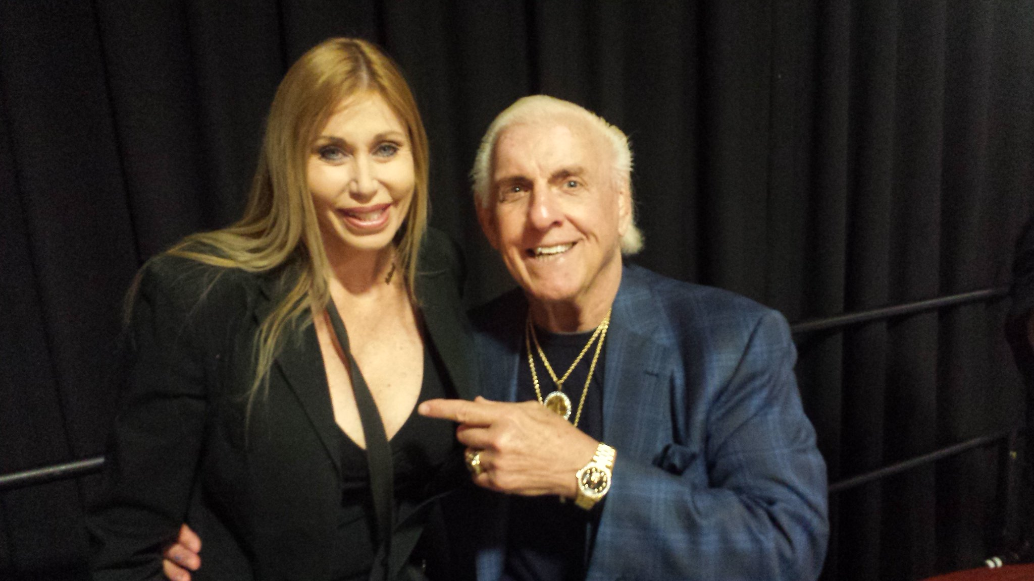 Missy Hyatt On Twitter Quot Met Ricflairnatrboy And His